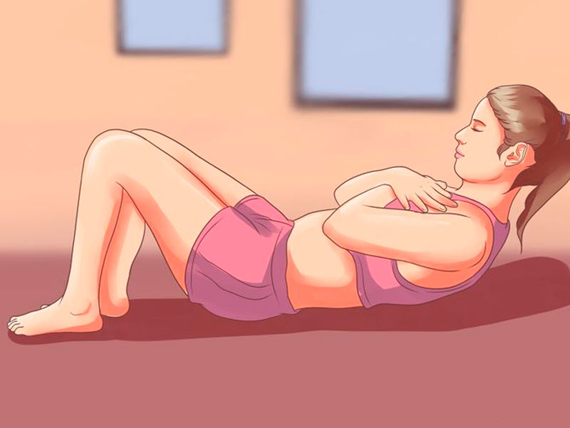 упражнение скручивание фото