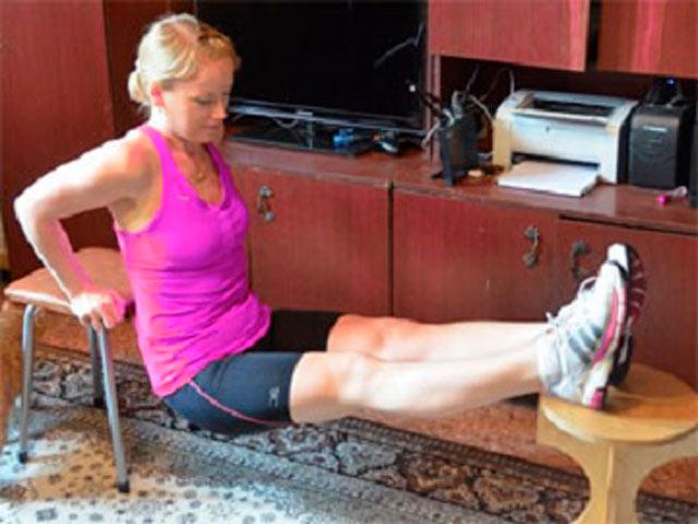 Упражнения на трицепс дома