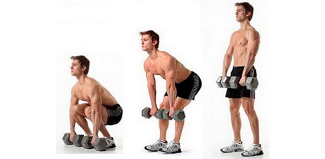 Упражнение «становая тяга»