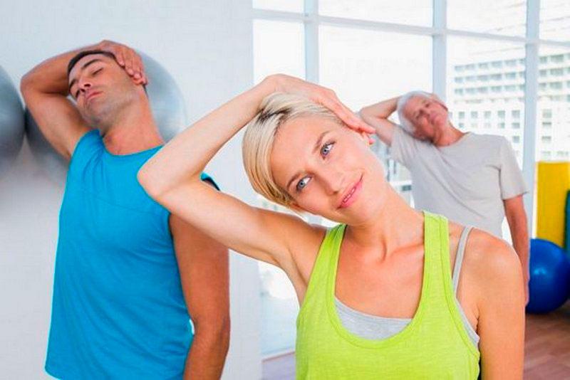 укрепление мышц шеи фото