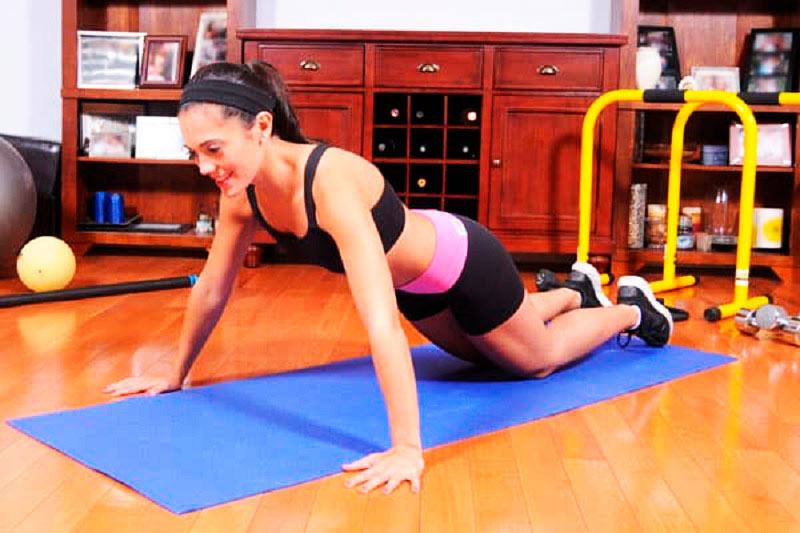 Тренировка для рук девушкам