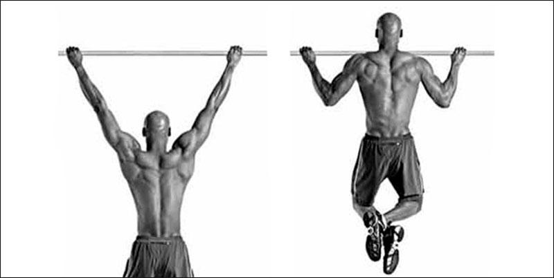 Подтягивания широким хватом – техника выполнения упражнения