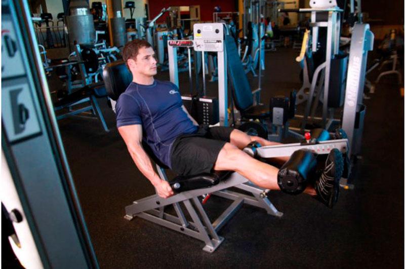 Упражнение «Выдвижение ног»