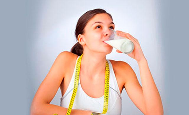 молоко для похудения фото