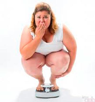 Переедание приводит к ожирению