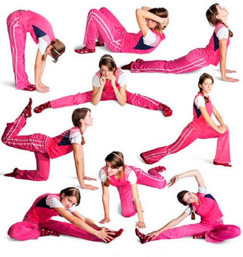 Эффективные упражнения для похудания