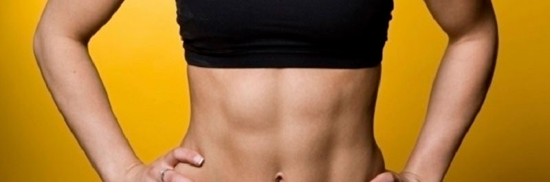 Упражнения для похудания живота