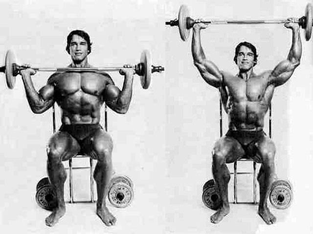 Упражнение Армейский жим